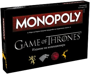 "Монополи - Игра на тронове - Семейна бизнес игра от серията ""Game of Thrones"" -"