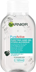 Garnier Pure Active Purifying Hydro-Alcoholic Hand Gel - Почистващ гел за ръце - гел