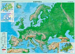 Store Bg Karta Na Evropa Geografska