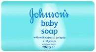 Johnson's Baby Soap with Milk Extract - Бебешки сапун с млечен протеин - дамски превръзки