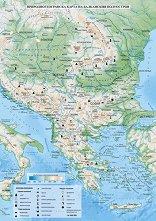 Store Bg Ptna Karta Balkanski Poluostrov