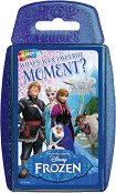 "Frozen - What's your favorite moment? - Игра с карти от серията ""Top Trumps: Play and Discover"" - продукт"