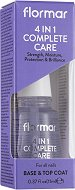 Flormar 4 in 1 Complete Care - База и топ лак за нокти - пила