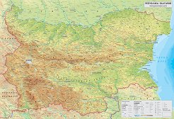 Store Bg Turisticheska Karta Na Blgariya