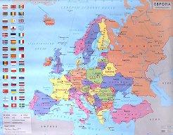 Store Bg Ptna Karta Na Evropa